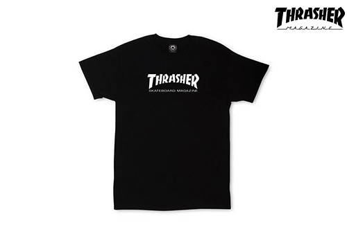 Thrasher SKATE MAG T-Shirts (black)