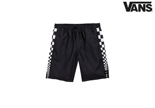 "VANS BOYS V-PANEL 17"" VOLLEY DECKSIDER _black"