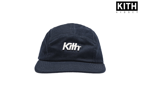 KITH KIDS CAMPER HAT (navy)
