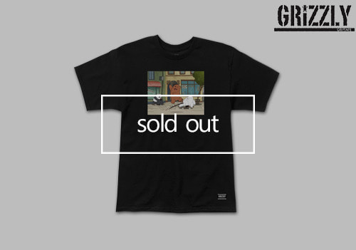 GRIZZ KICK FLIP tee