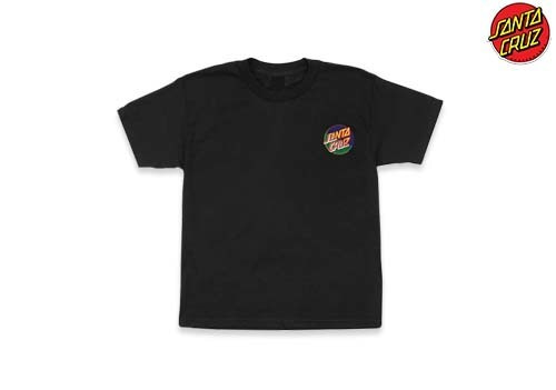 SANTACRUZ Dot Blocker regular tee (black)