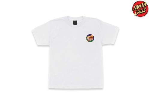 SANTACRUZ Dot Blocker regular tee (white)